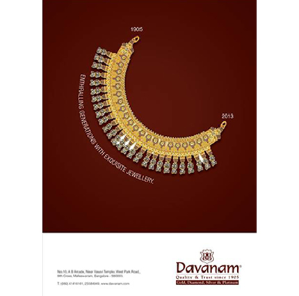 creative advertisements for jewellery brand